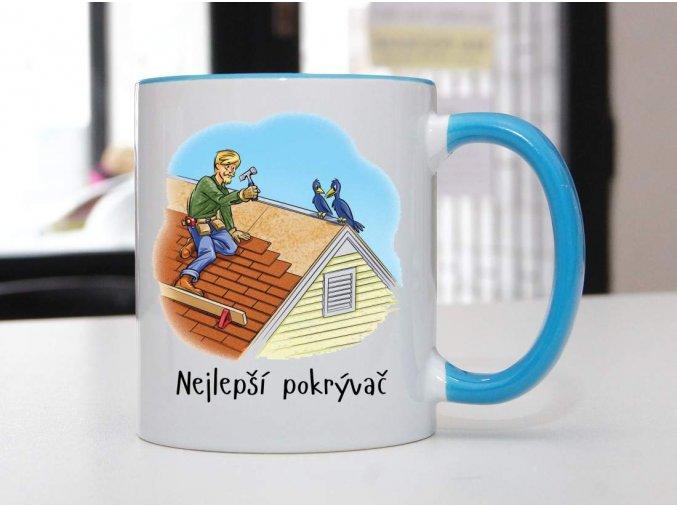 hrnek blank pokrývač)