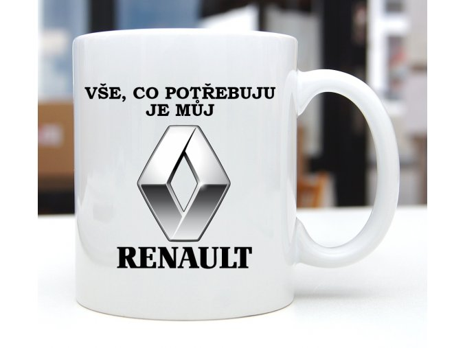 hrnek RENAULT