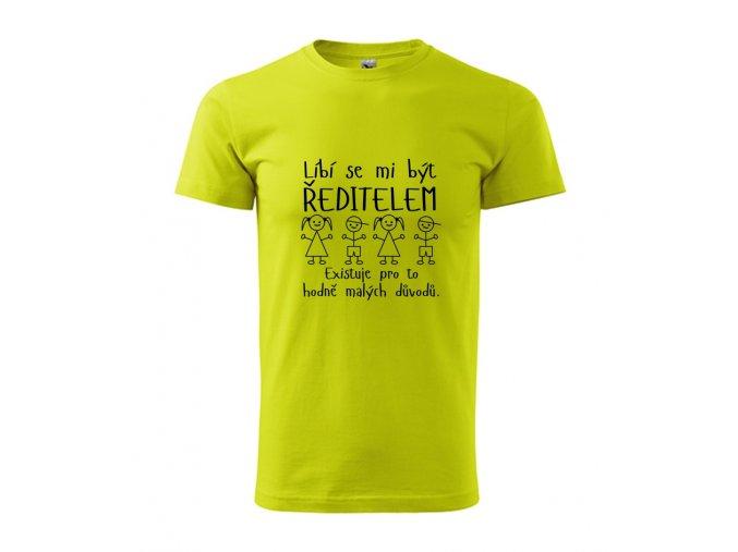 tričko ředitelem