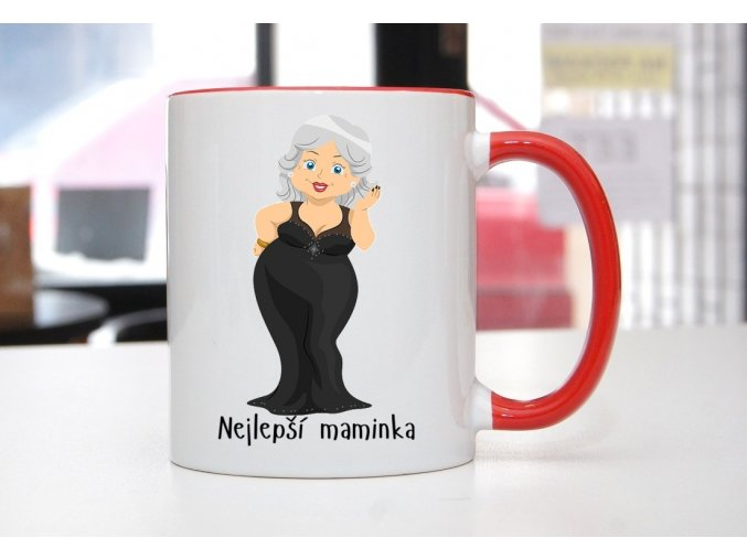 hrnek starší maminka