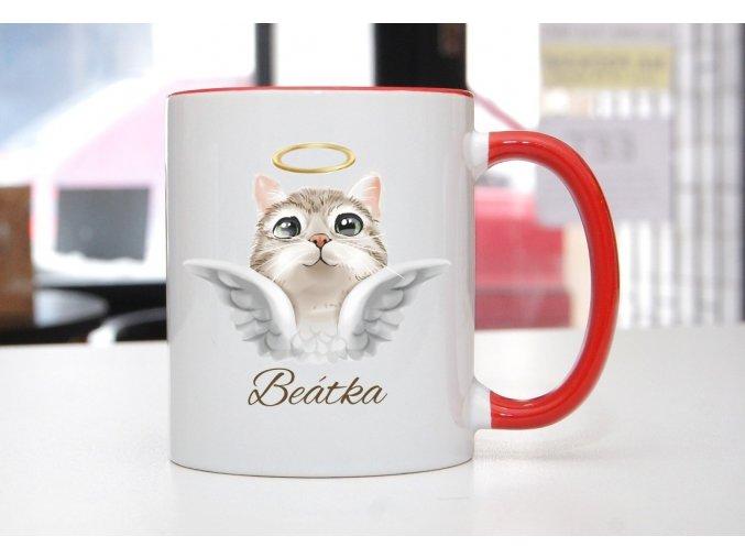 hrnek kočička se jménem