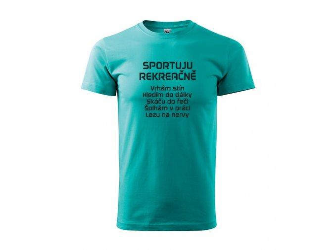 triko Sportuju rekreačně
