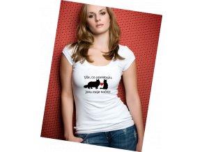 triko dvě kočky