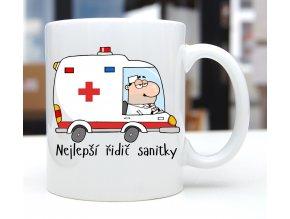 hrnek řidič sanitky