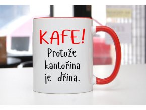 hrnek kafe kantořina