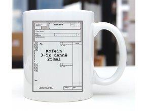 hrnek kofein