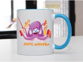 hrnek chobotnice učitelka