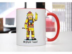 hrnek hasič