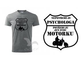 triko Psycholog chopper
