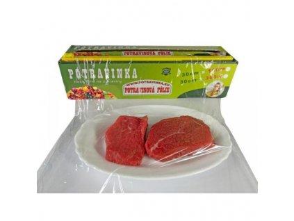 0000162 potravinka potravinova fresh folie na potraviny 300m 600