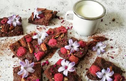 Recept na brownies z ovesné mouky
