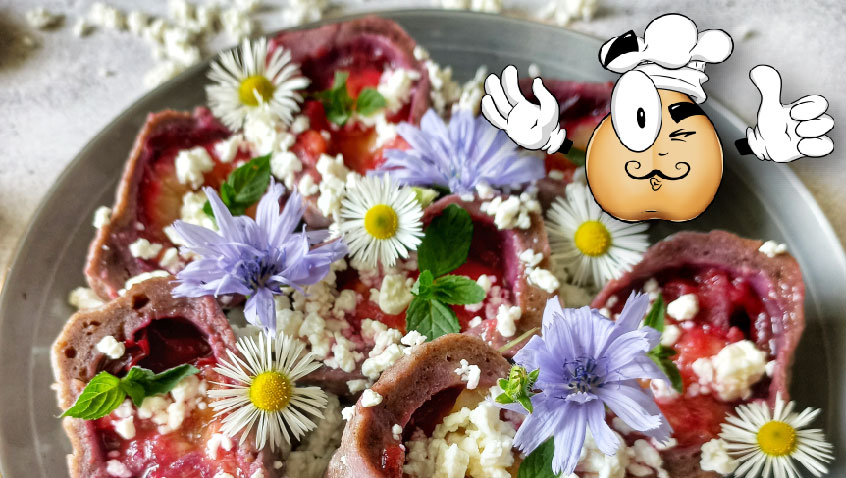 Recept na makové knedlíky se švestkami