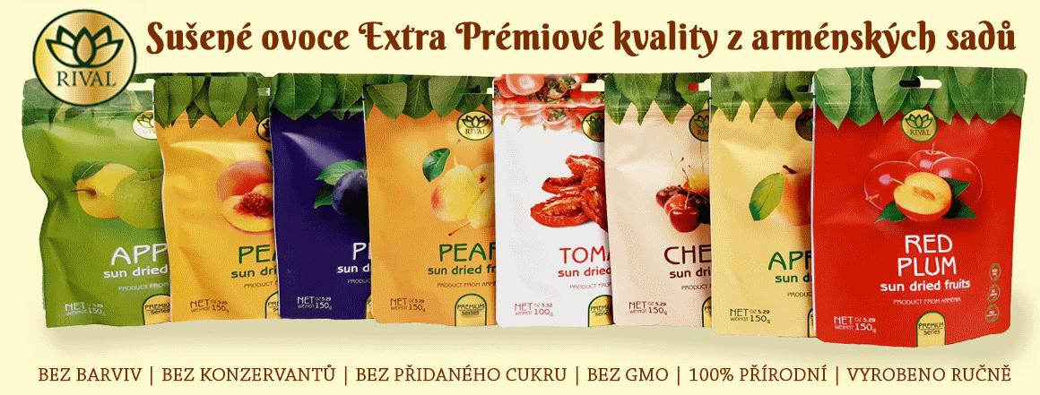 Sušené ovoce Extra Premium RIVAL
