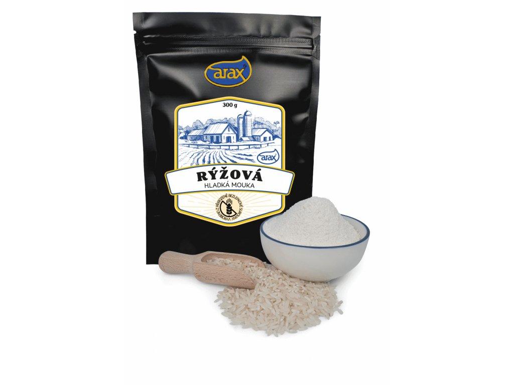 Mouka rýžová hladká nat. 300g ARAX