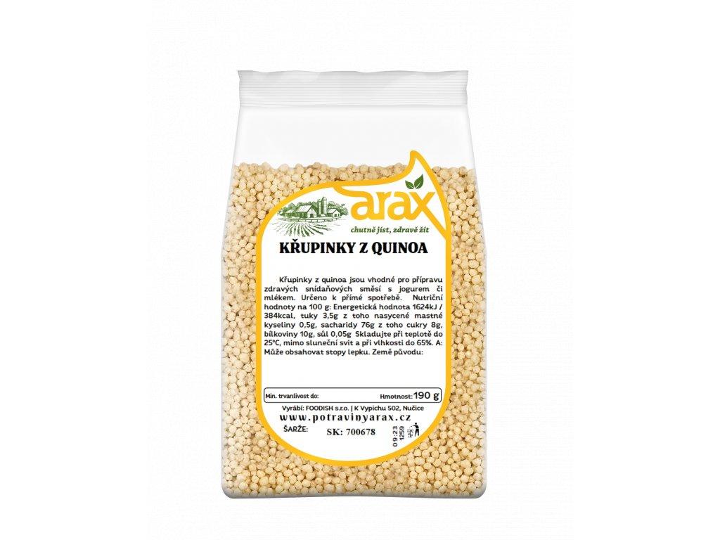 Křupinky s quinoa