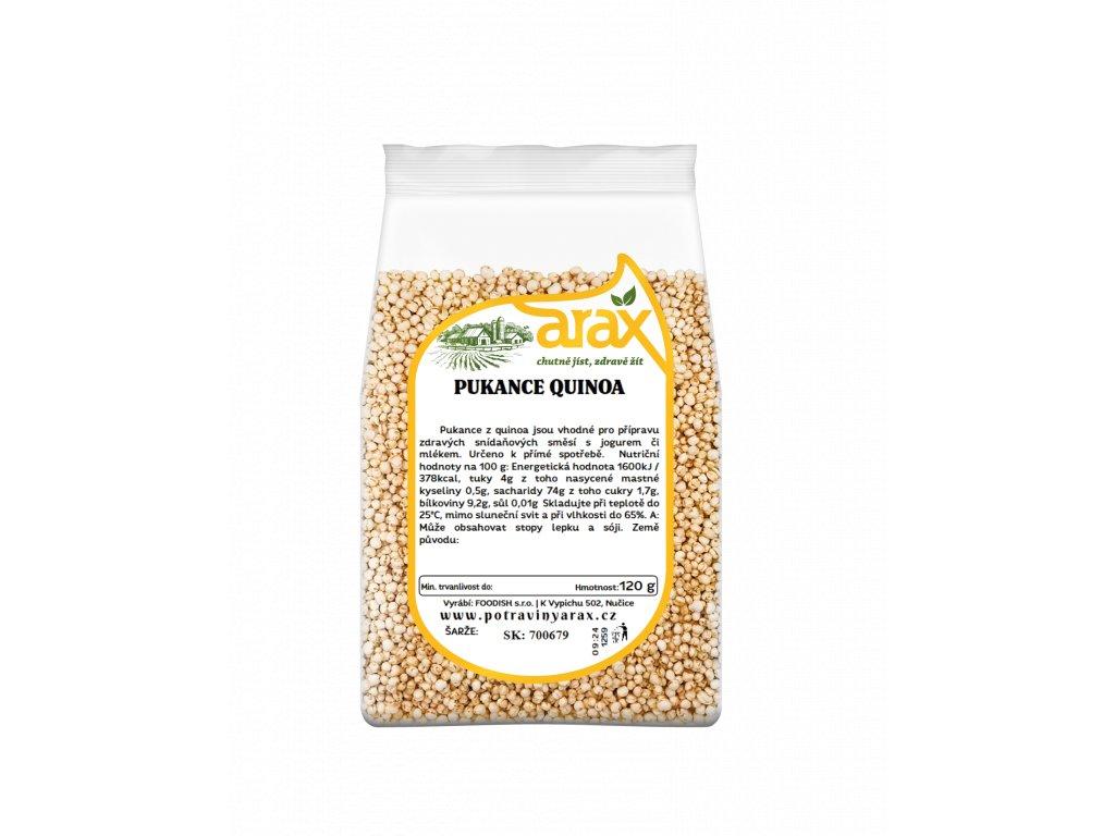 ARAX Pukance quinoa 120g 3Dv1