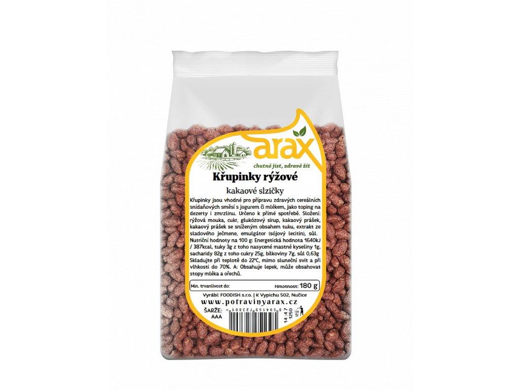 ARAX Křupinky rýžové kakaové slzičky 500 g 3Dv2