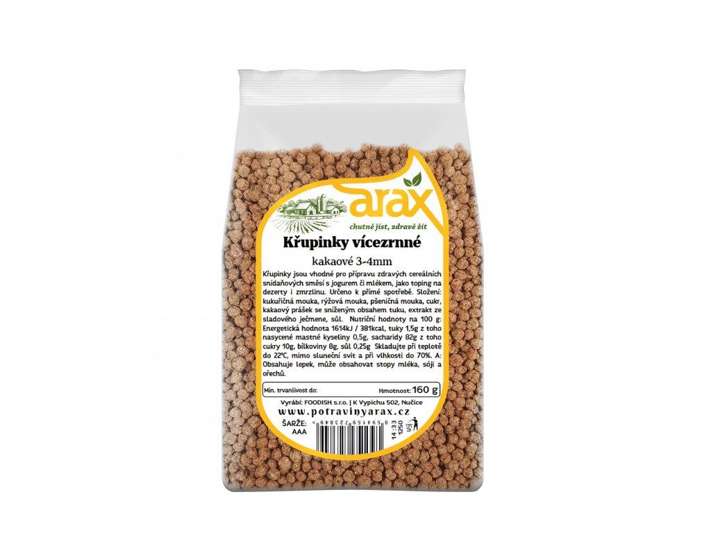 ARAX Křupinky vícezrnné kakaové 500g 3Dv2