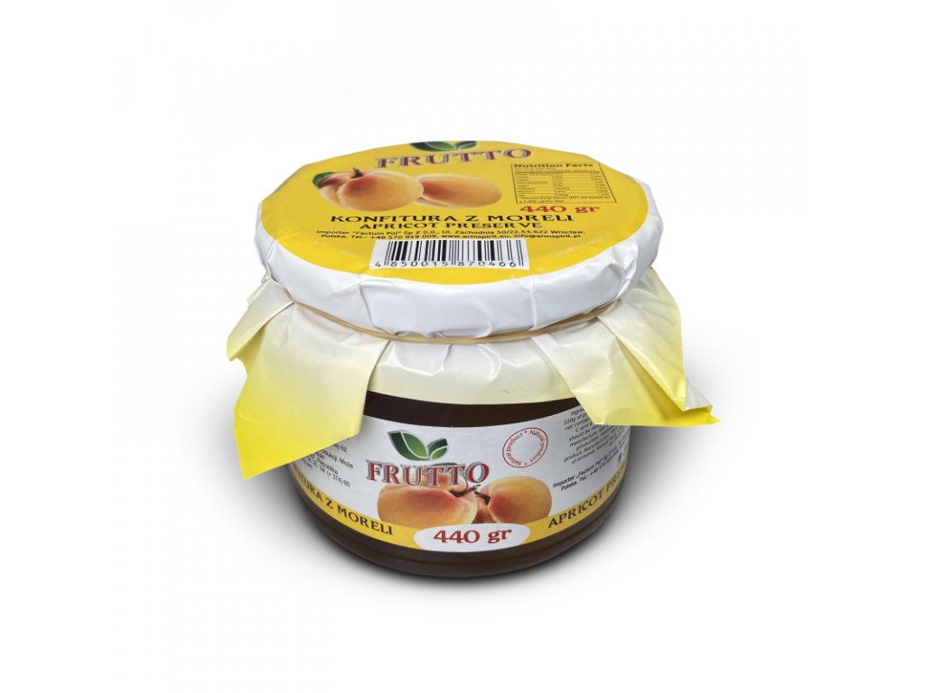 Meruňky v sirupu