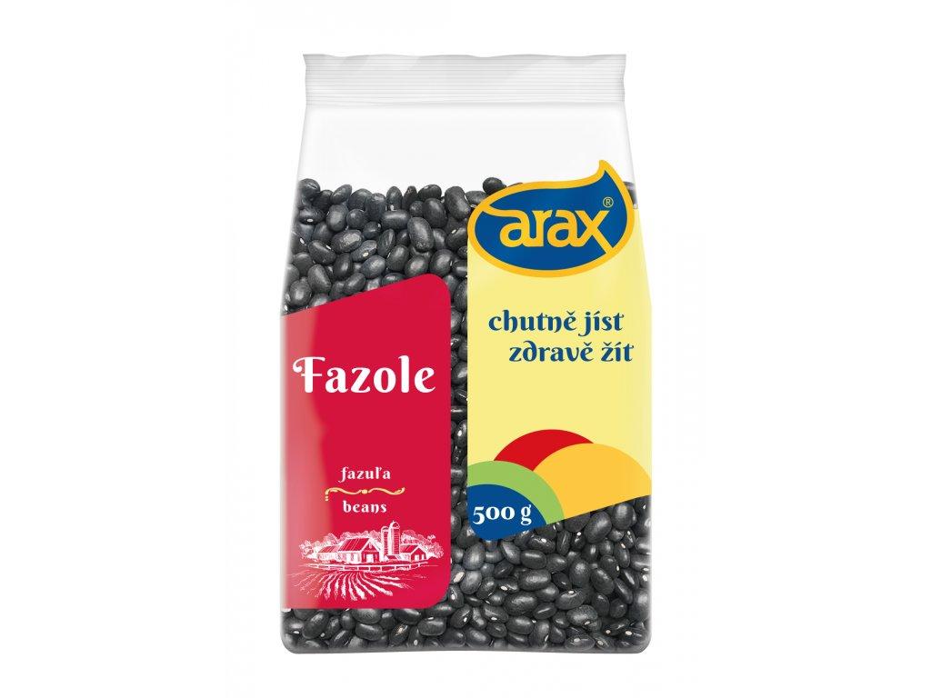 ARAX Fazole černá malá 500g 3Dv2