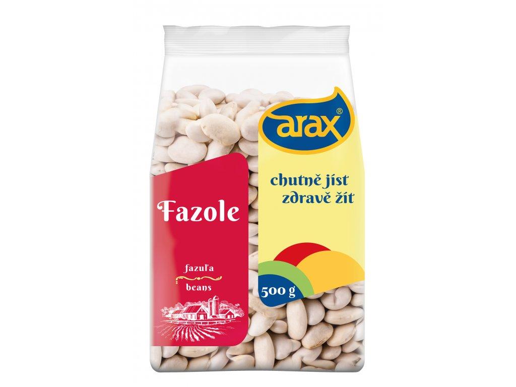 ARAX Fazole bílá velká 500g 3Dv3
