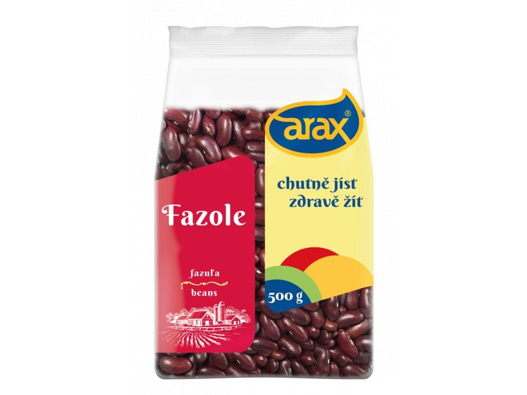 ARAX Fazole červená ledvinka chilli 500g small