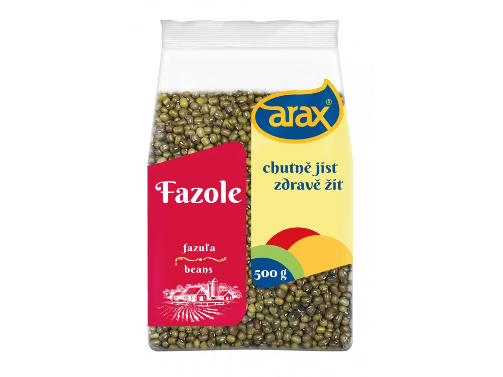 ARAX Fazole mungo 500g small 3Dv2