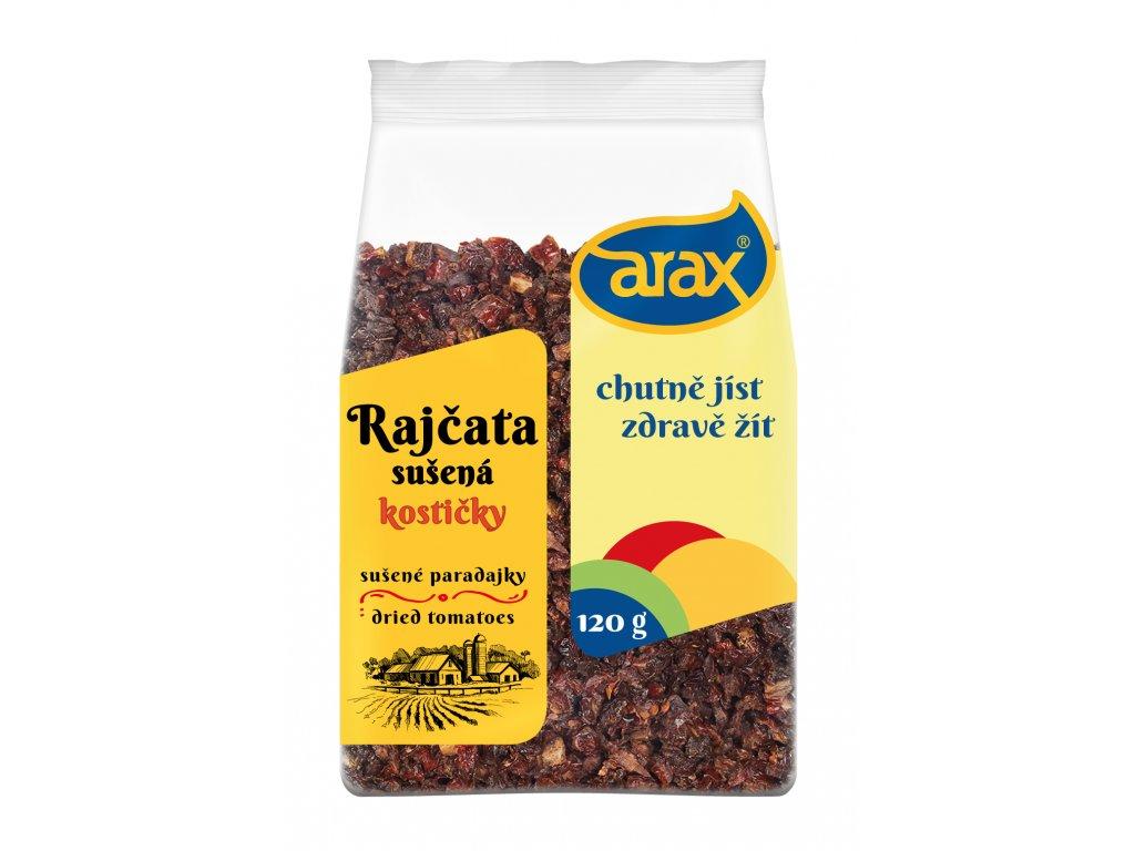 ARAX Rajčata sušená kostičky 120g 3Dv1