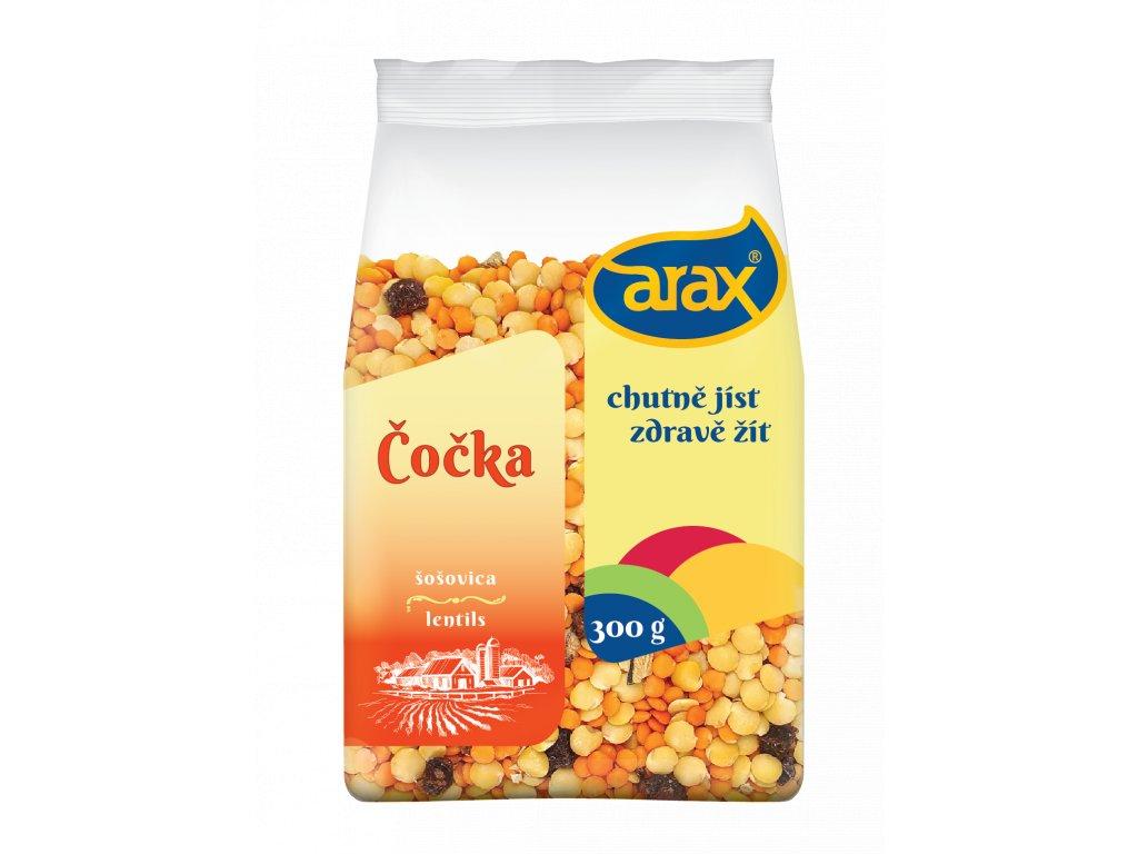 ARAX Čočka gurmánská 300g 3Dv1 mockup