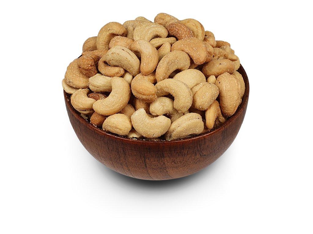 Kešu ořechy pražené, solené