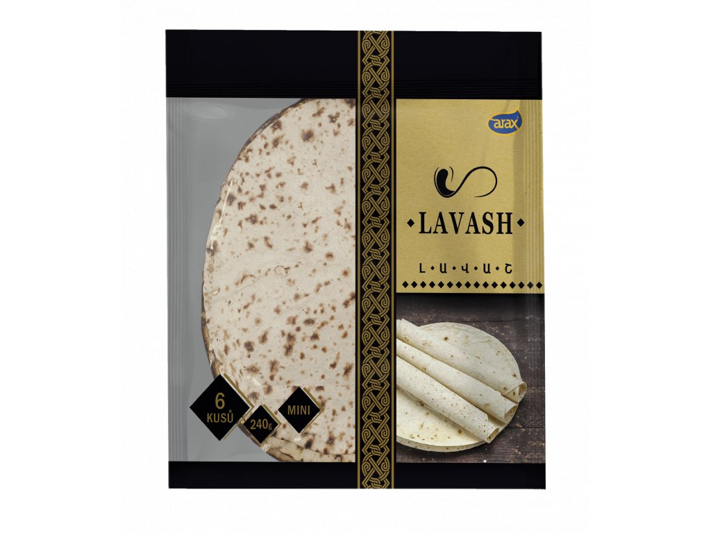 ARAX Lavash MINI 6 ks, 240g small