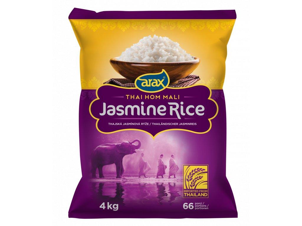 ARAX Rýže jasmínová Hom Mali 4kg 3Dv1 mockup w1200px