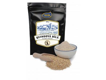 Mouka quinoová bílá hladká nat. 300g ARAX