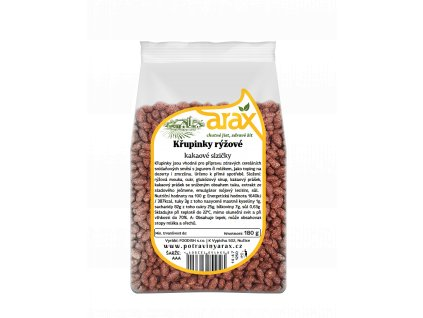 Křupinky rýžové kakaové