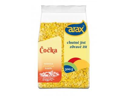 ARAX Čočka žlutá půlená 500g 3Dv2 small