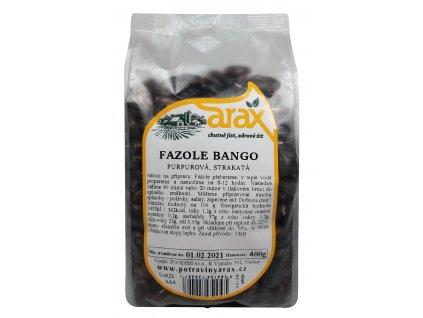 ARAX Fazole bango purpurová 400g
