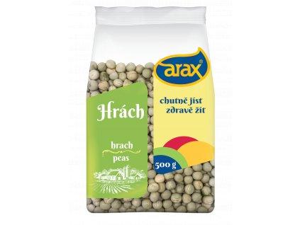 ARAX Hrách zelený celý 500g 3Dv1