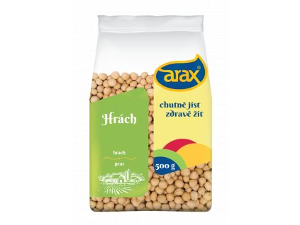 ARAX Hrách žlutý celý 500g 3Dv1 small