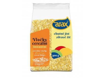 ARAX Kukuřičné vločky instantní 500g 3Dv2