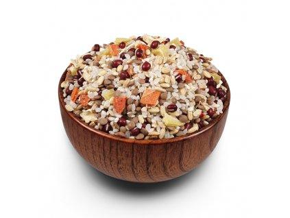 Polévková směs s čočkou červenou neloupanou a fazolí adzui 2xsmall