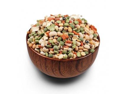Polévková směs s fazolí černé oko a hrachem 2xsmall