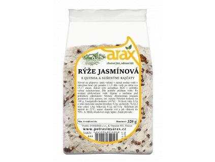 ARAX Rýže jasmínová s quinoa a sušenými rajčaty 320g 2xsmall