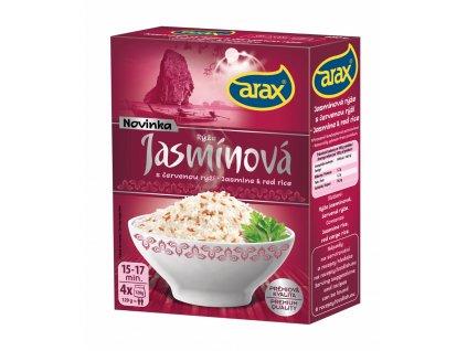 Varné sáčky rýže jasmínová s červenou rýží