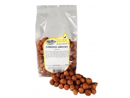 ARAX Lískové ořechy natural 500g small