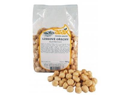ARAX Lískové ořechy blanšírované 500g