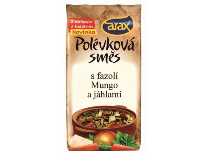 Polévková směs s fazolí mungo a jáhly