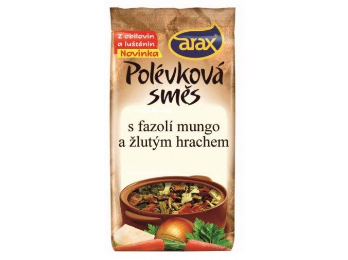 Polévková směs s fazolí mungo a žlutým hrachem