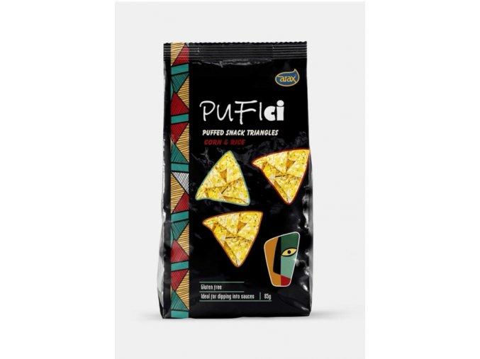 Zdravý snack kukuřično - rýžový s chia
