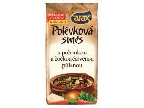 Polévková směs s čočkou červenou loupanou a pohankou