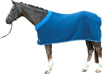 Odpocovací deky na koně-fleece